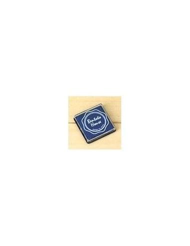 Tinta color azul marino para sellos