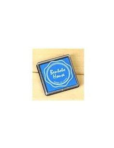 Tinta azul para sellos