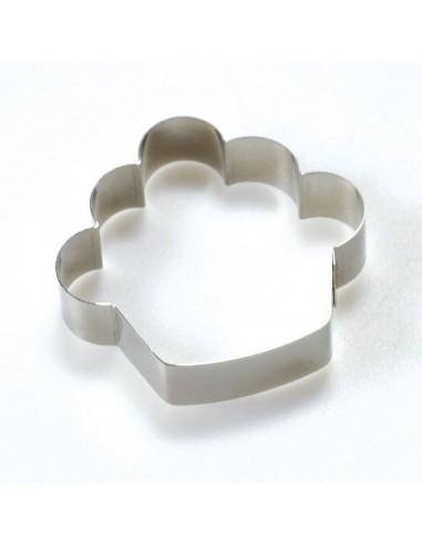Cortador metálico cupcake
