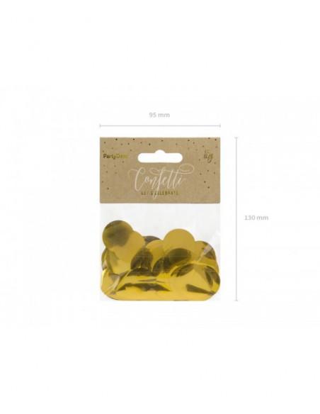 Confeti oro
