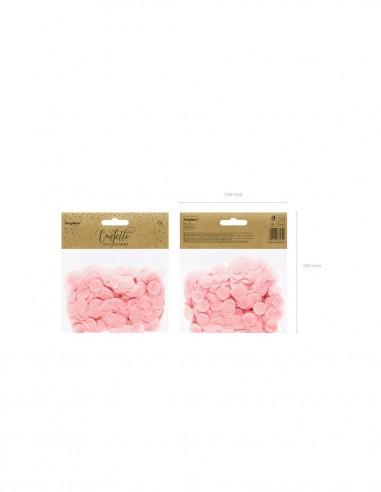 Confeti rosa
