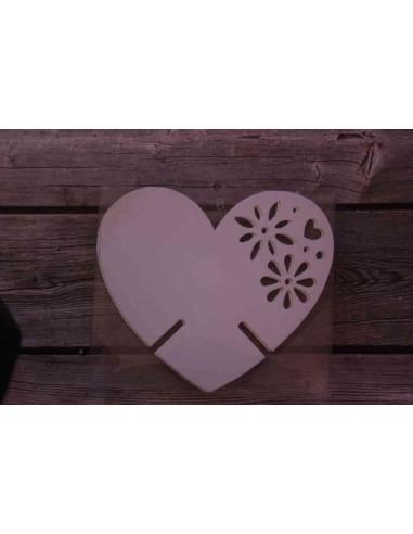 Pack 12 corazones de papel decorativos