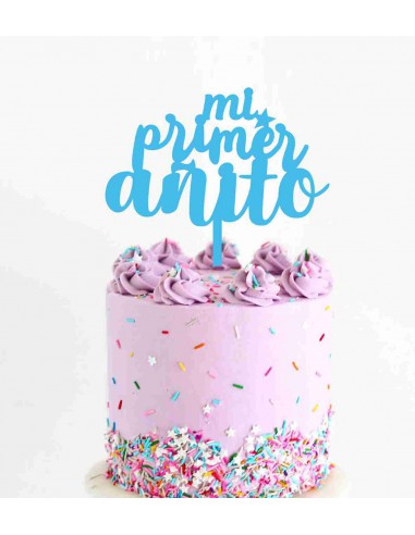 Topper tarta Mi Primer Añito