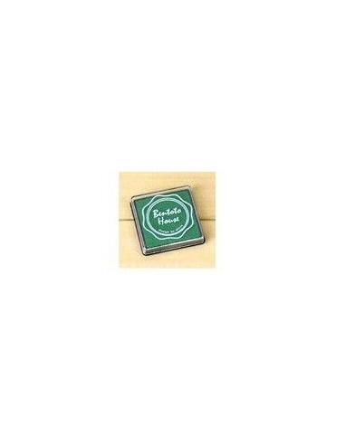 Tinta color verde oscuro para sellos