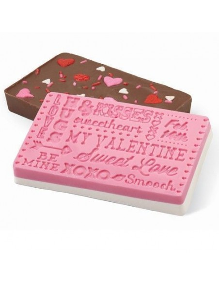 Wilton Molde Silicona Chocolate San Valentín