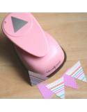 Troqueladora triángulo 5 cm