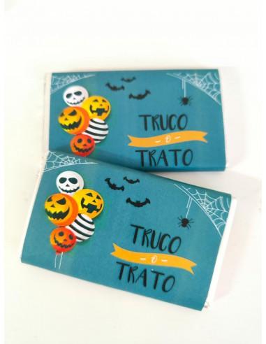 Chocolatina Truco o Trato Halloween