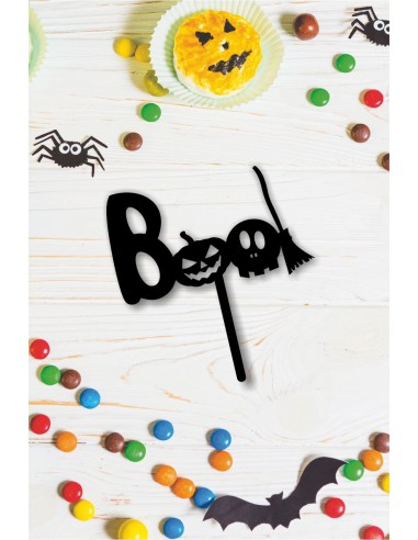 Topper Halloween Boo