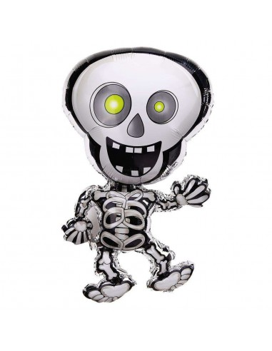 Globo esqueleto foil