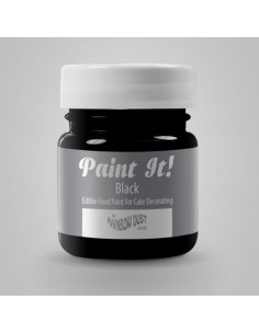 Pintura Comestible Negra RD Paint It!