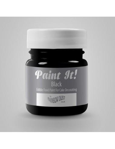 RD Paint It! Pintura Comestible Negra