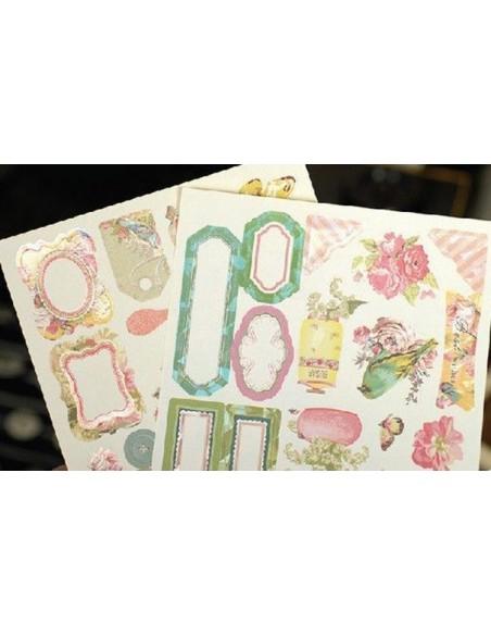Album para decorar con florecillas