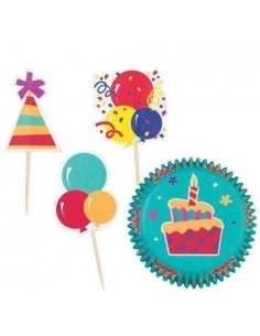 Cápsulas Cupcake Combo pack Celebración Wilton