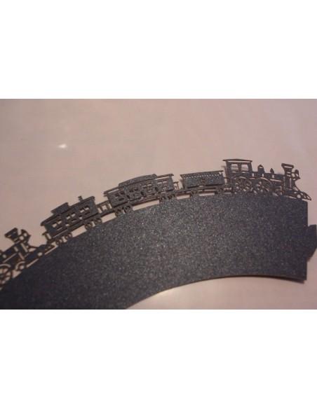 Pack 12 wrappers de locomotora