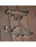 Set dos cortadores dinosaurios