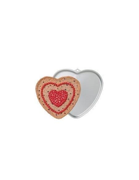 Molde para Galletas Corazón Gigante Wilton