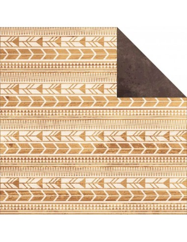 Papel doble cara Indian Summer - Aztec
