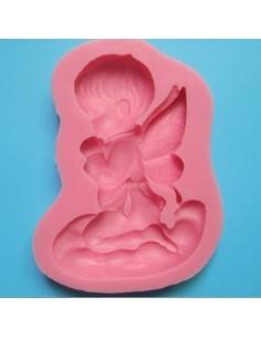 Molde silicona angel