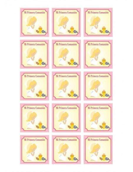 Papel azúcar Comunión 06