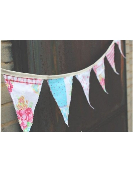 Banderines reversibles de tela
