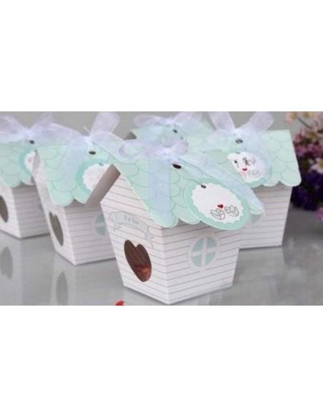 Caja casita de pájaro