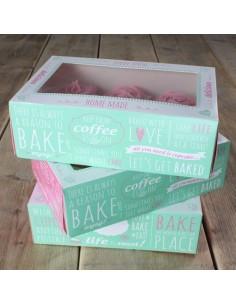 Cajas 6 cupcakes