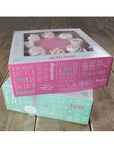Cajas para tartas frases
