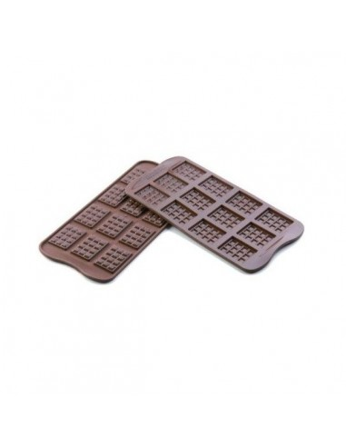 Molde silicona tabletas chocolate