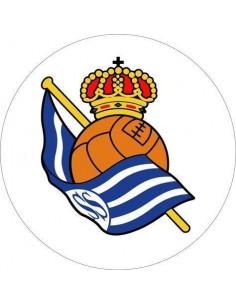 Papel de azúcar escudo Real Sociedad