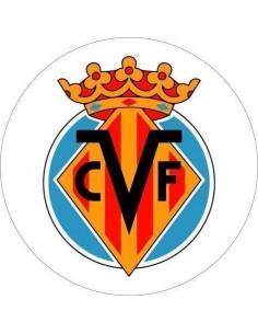 Papel de azúcar escudo Villarreal