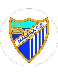 Papel de azúcar escudo Málaga