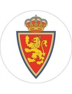 Papel de azúcar escudo Real Zaragoza