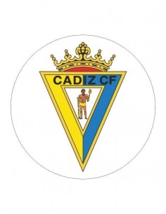 Papel de azúcar escudo Cádiz