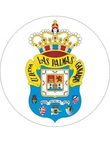 Papel de azúcar escudo Las Palmas Nº66