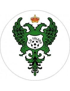 Papel de azúcar escudo Club Deportivo Toledo