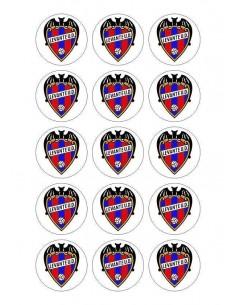 Papel de azúcar escudo Levante para galletas Nº70