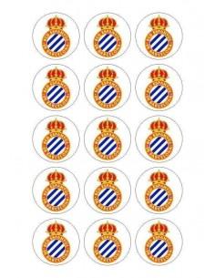 Papel de azúcar escudo Espanyol para galletas