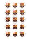 Papel de azúcar escudo Barcelona para galletas Nº74