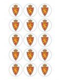 Papel de azúcar escudo Real Zaragoza para galletas Nº77
