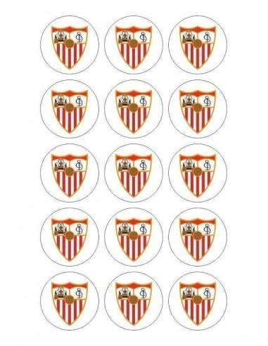 Papel de azúcar escudo Sevilla para galletas Nº80