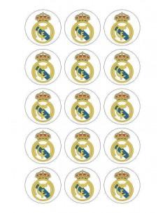 Papel de azúcar escudo Real Madrid para galletas Nº83