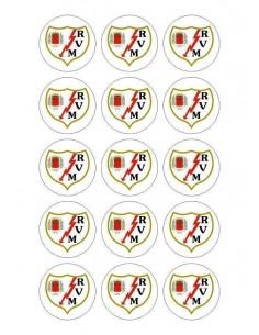 Papel de azúcar escudo Rayo Vallecano para galletas Nº84