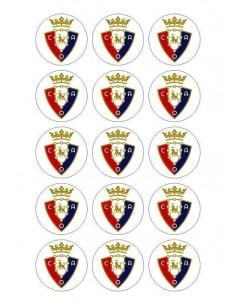 Papel de azúcar escudo Osasuna para galletas