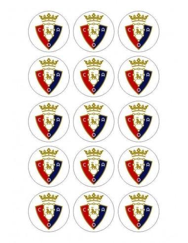 Papel de azúcar escudo Osasuna para galletas Nº85