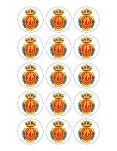 Papel de azúcar escudo Mallorca para galletas