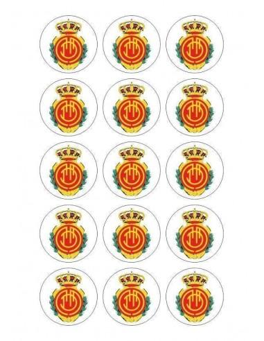 Papel de azúcar escudo Mallorca para galletas Nº86