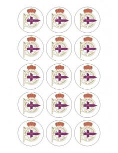 Papel de azúcar escudo Coruña para galletas Nº90
