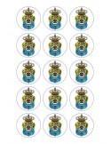 Papel de azúcar escudo Las Palmas para galletas Nº91