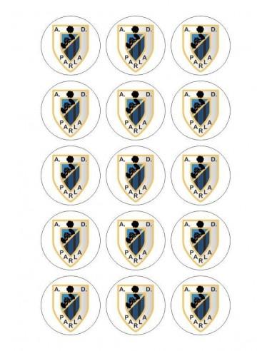 Papel de azúcar escudo Parla para galletas Nº92