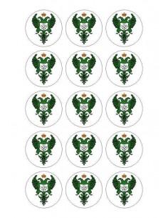 Papel de azúcar escudo Toledo para galletas Nº93